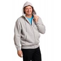 FL03 Double Bay Men's Full Zip Fleecy Hoodie