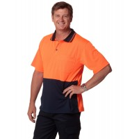 SW01CD High Visibility CoolDry Short Sleeve